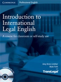 Zobacz książkę Introduction to International Legal English w Księgarni Internetowej Grzbiet.pl